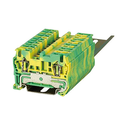 ST3-2.5JD Spring Ground-Earthed Terminal Block
