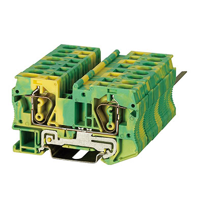 ST3-6JD Spring Ground-Earthed Terminal Block