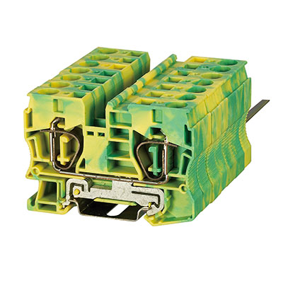 ST3-10JD Spring Ground-Earthed Terminal Block