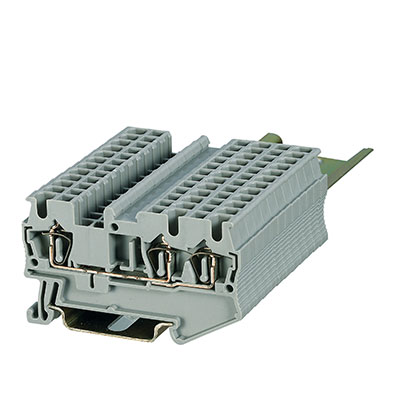 ST3-2.5 1X2 Spring Unconventional-Double-Triple Deck Terminal Block