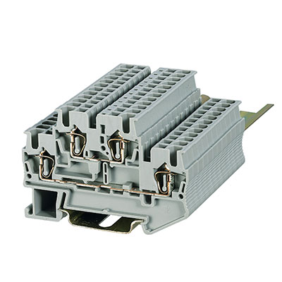 ST3-2.5 2-2 Spring Unconventional-Double-Triple Deck Terminal Block