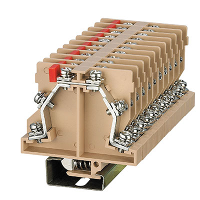 JF5-2.5S3L Screw Unconventional-Double-Triple Deck Terminal Block