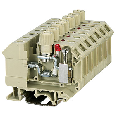 SEK10RDX Screw Fuse Terminal Block
